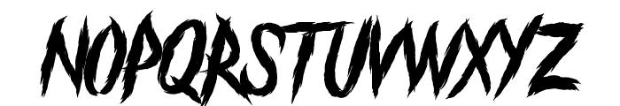 The Black Festival Font LOWERCASE