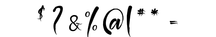 The Black Pearl Font OTHER CHARS