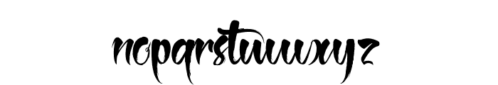The Black Pearl Font LOWERCASE
