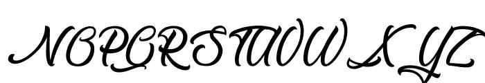 The Blacksmith Font UPPERCASE