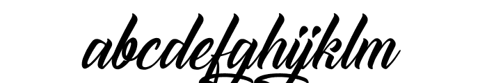 The Blacksmith Font LOWERCASE