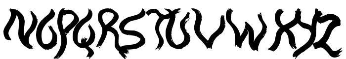 The Boatman Font UPPERCASE