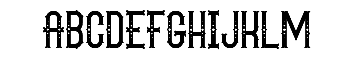 The Circus Show FreeVersion Font LOWERCASE