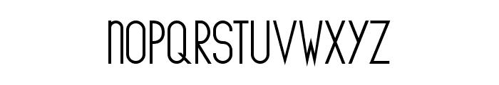 The Copenhagener Bold Font LOWERCASE