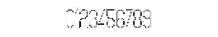The Copenhagener Outline Font OTHER CHARS