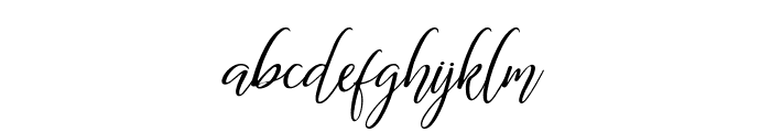 The Dance Signature Font LOWERCASE