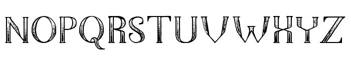The Dark Titan Classic Font UPPERCASE