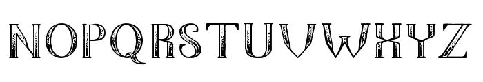 The Dark Titan Classic Font LOWERCASE