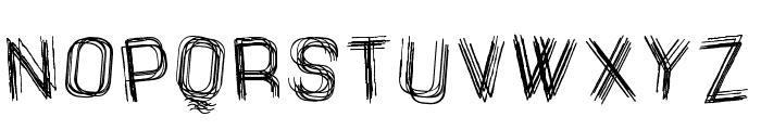 The Drunked Man St Font UPPERCASE