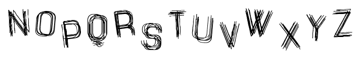 The Drunked Man St Font LOWERCASE