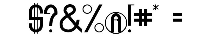 The Eighteenth Amendment Bold Caps Font OTHER CHARS