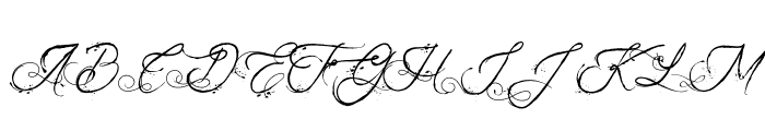 The Fabulous Orchestra Font UPPERCASE