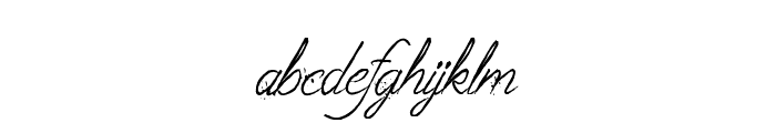 The Fabulous Orchestra Font LOWERCASE
