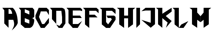 The First Font UPPERCASE