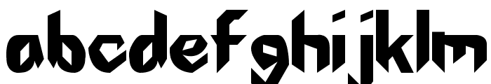 The First Font LOWERCASE