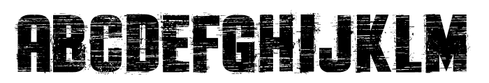 The Flast Demo Font UPPERCASE