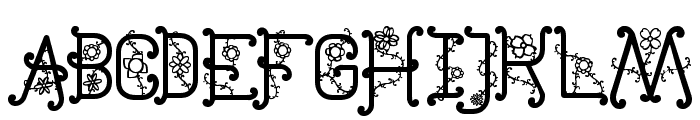 The Flowers St Font LOWERCASE