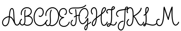 The Grateful 1 Font UPPERCASE