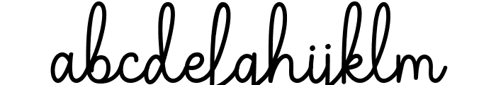 The Grateful 1 Font LOWERCASE