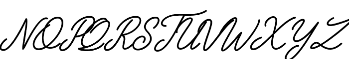 The Grateful 3 Font UPPERCASE