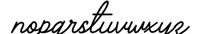 The Grateful 3 Font LOWERCASE