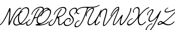 The Grateful 4 Font UPPERCASE