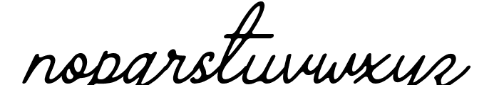 The Grateful 4 Font LOWERCASE