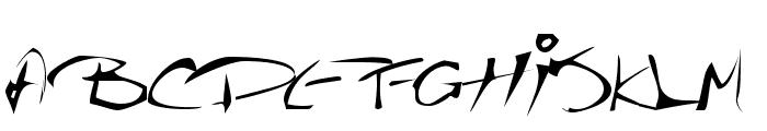 The Guru Font Font UPPERCASE