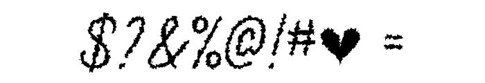 The Haunted Maze Regular Font OTHER CHARS