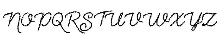 The Haunted Maze Regular Font UPPERCASE