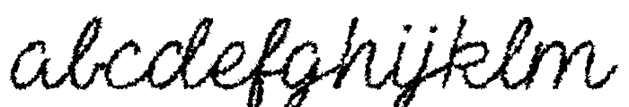 The Haunted Maze Regular Font LOWERCASE