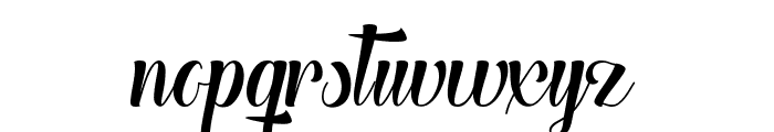 The Heart of Everything Demo Font LOWERCASE