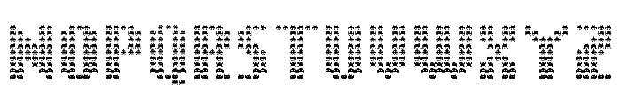 The Invaders Regular Font UPPERCASE