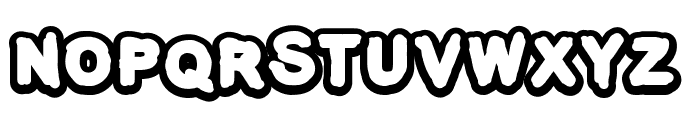 The-Kids-Mraker Font UPPERCASE