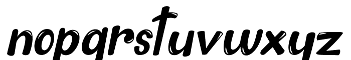 The King - 2 Font LOWERCASE