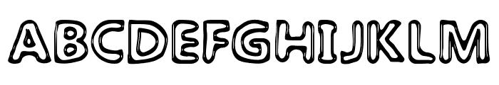 The Laguna Font UPPERCASE
