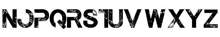 The Last Call Regular Font UPPERCASE