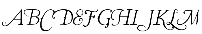 The Last Font I'm Wasting On You Italic Font UPPERCASE
