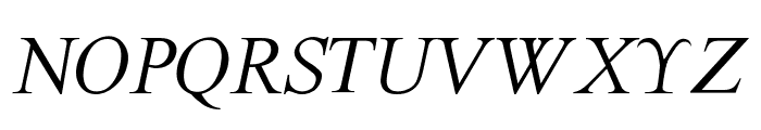 The Last Font I'm Wasting On You Italic Font LOWERCASE