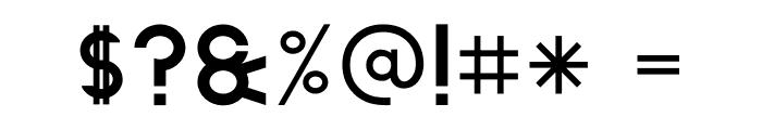 The Lekker Font OTHER CHARS