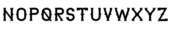 The Lekker Font UPPERCASE