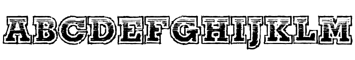 The Line-Up Font UPPERCASE