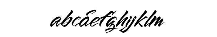The Lord Night Font LOWERCASE