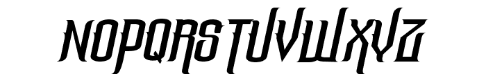 The Lost Canyon Italic Font UPPERCASE