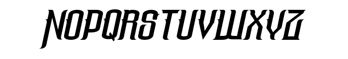 The Lost Canyon Italic Font LOWERCASE