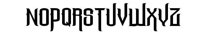 The Lost Canyon Font UPPERCASE