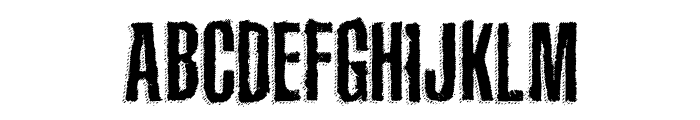 The Main Event Font LOWERCASE