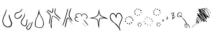 The-ManPu Font UPPERCASE