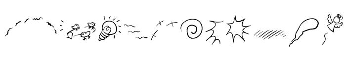 The-ManPu Font LOWERCASE