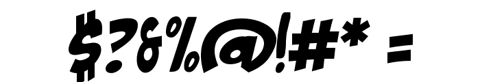 The Mighty Avengers Font OTHER CHARS